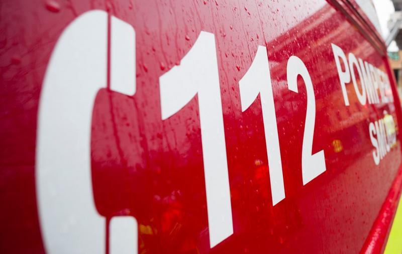 Sinucidere anunțată prin apel la 112