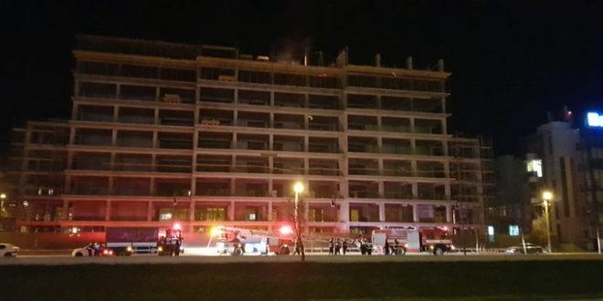 Incendiu la Liceul Alexandru Ioan Cuza din Iasi | MondoNews  |Incendiu Iasi