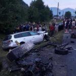 Accident cu doi morți și alte 4 persoane rănite a avut loc în Maramureș